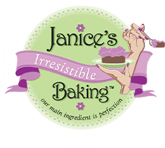 Janice's Irresistible Baking: Our main ingredient is perfection